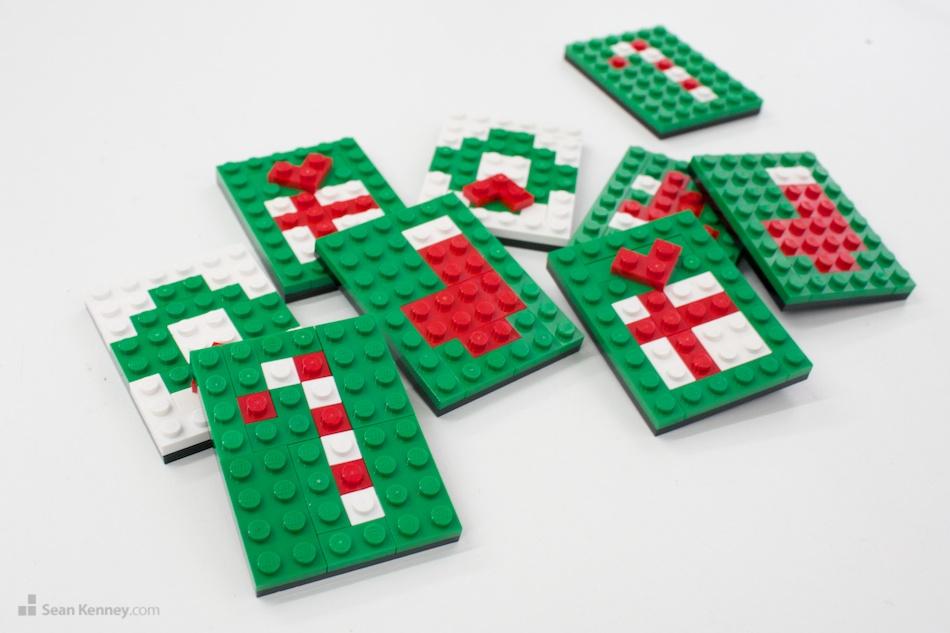 Sean Kenney - Art with LEGO bricks : Christmas cards