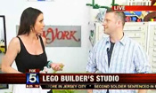 Live at Sean's LEGO studio, with Good Day New York
