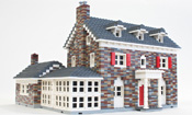 Your house in LEGO bricks