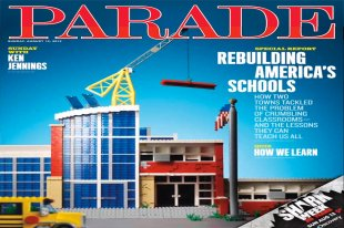 Parade Magazine cover