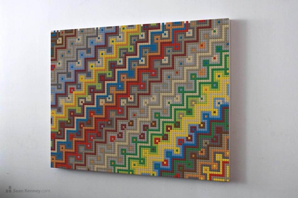 Sean Kenney Art With Lego Bricks Wall Art