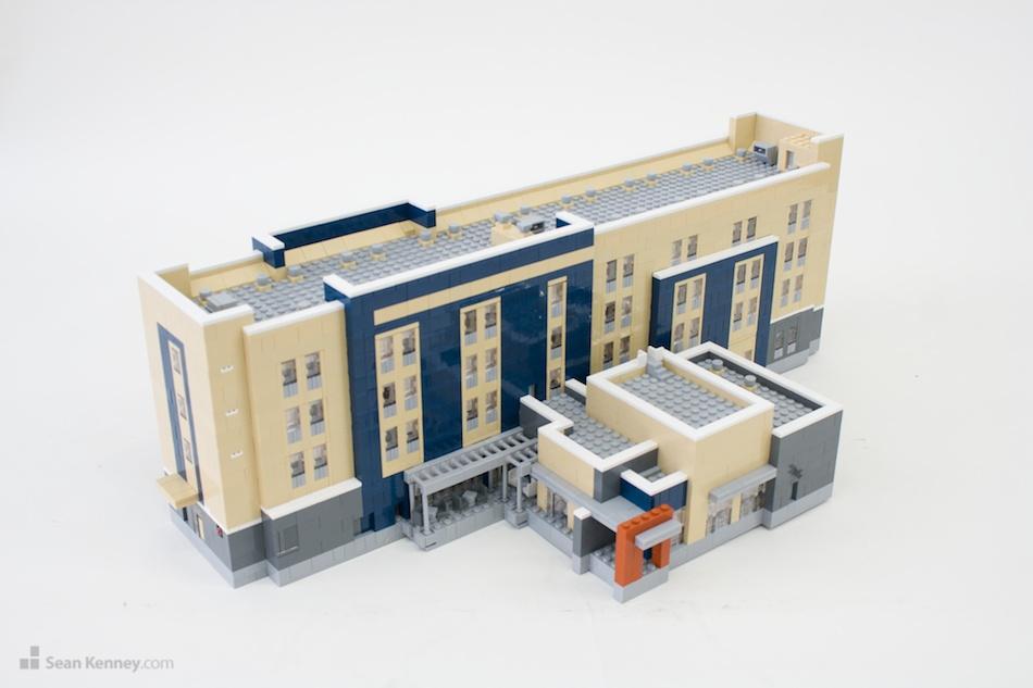 Midland-marriott LEGO art by Sean Kenney