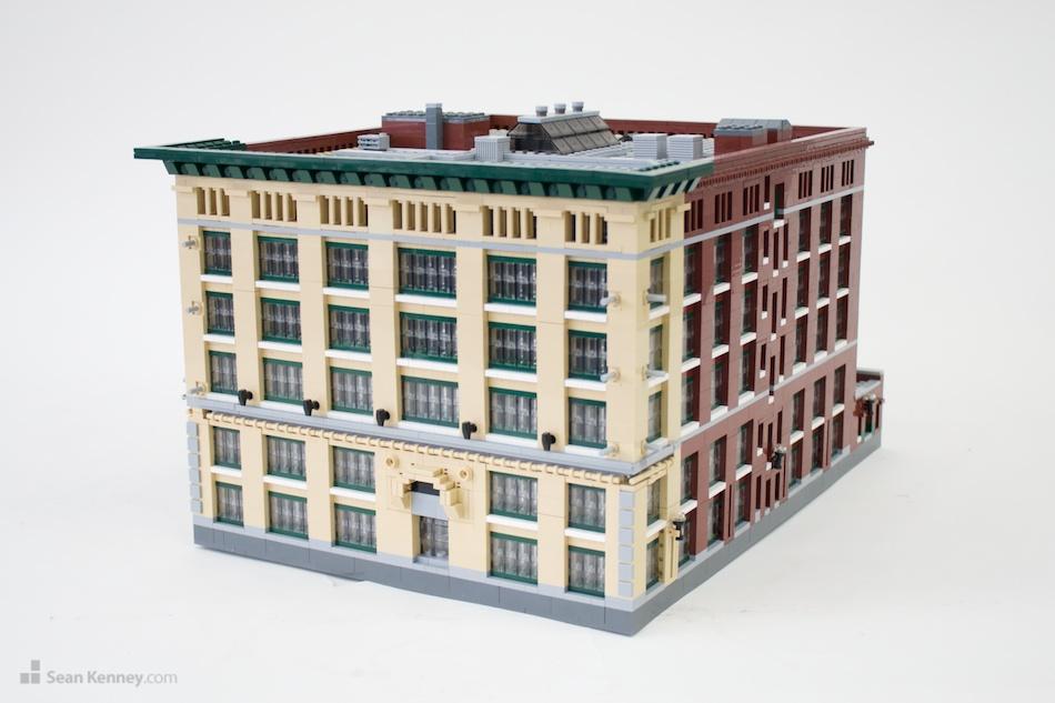 Boston-marriott LEGO art by Sean Kenney