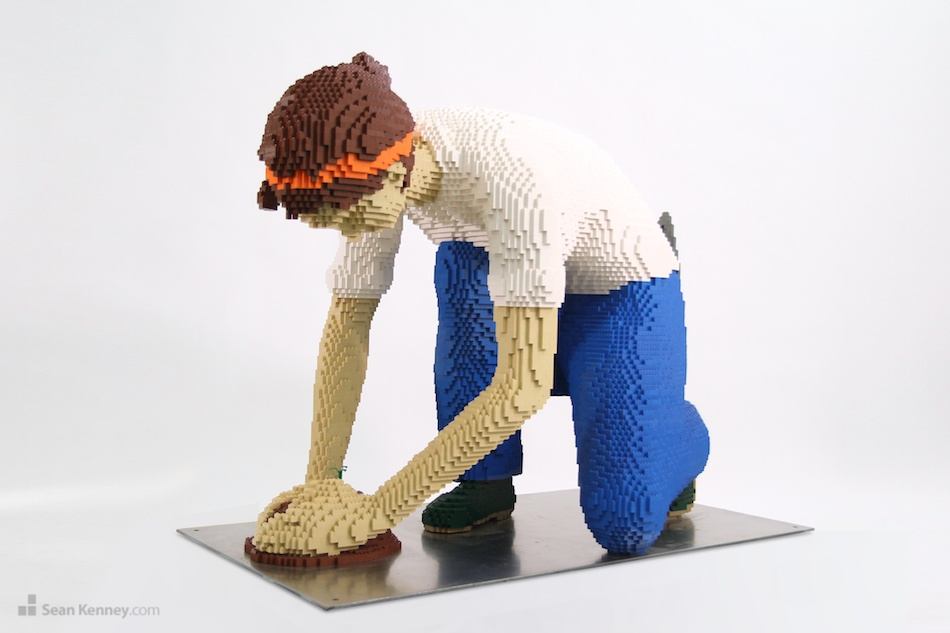 Gardener-2014 LEGO art by Sean Kenney