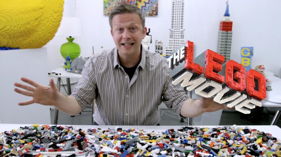 The-lego-movie-bricksburg LEGO art by Sean Kenney