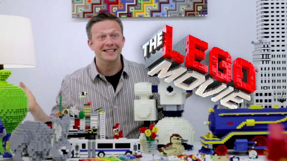 Sean-kenney-presents-the-lego-movie-castles LEGO art by Sean Kenney