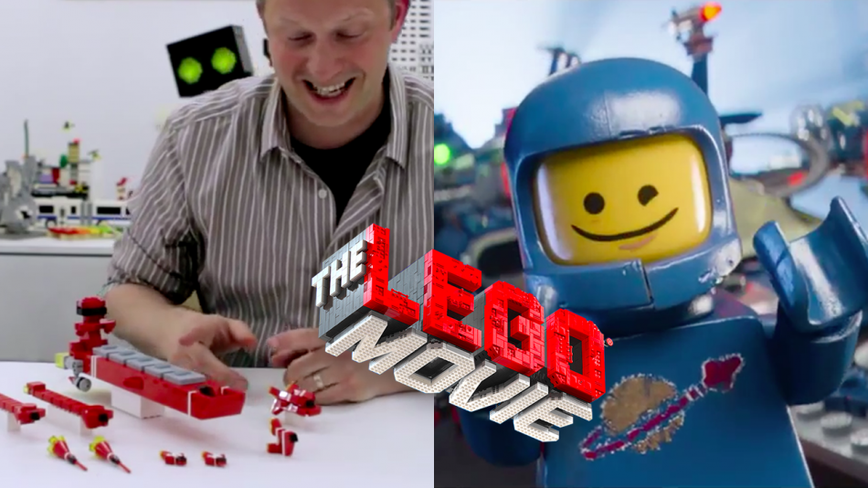 Sean Kenney presents The LEGO Movie: Spaceship!  Learn how to become a Master Builder