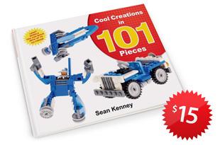101 pieces LEGO art by Sean Kenney
