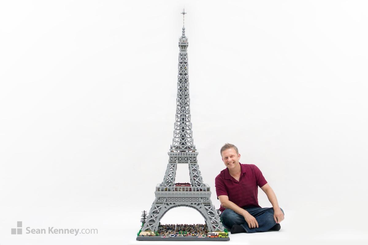 O Πύργος του Eiffel από τον Sean Kenney 10