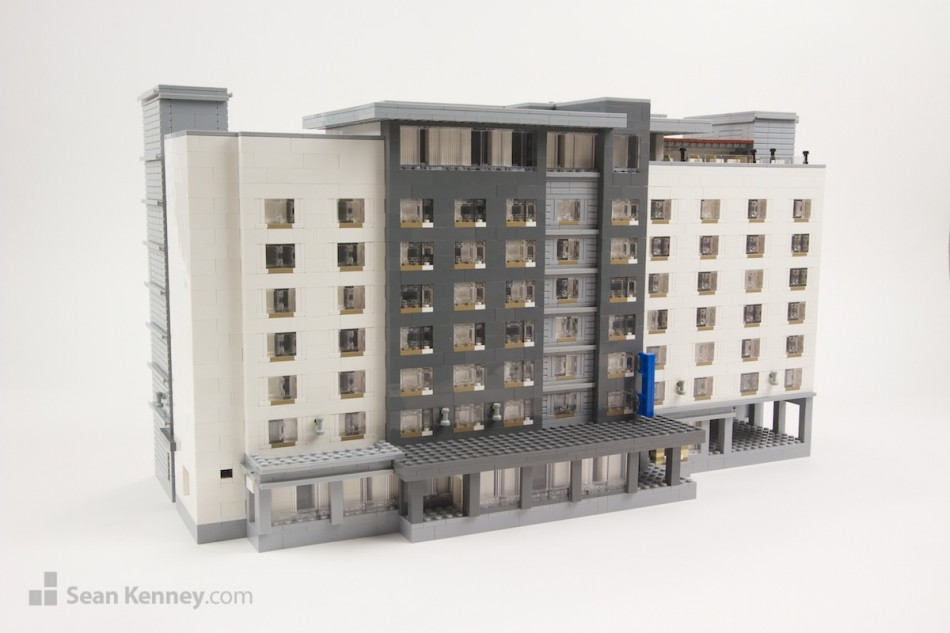Nashville-marriott LEGO art by Sean Kenney
