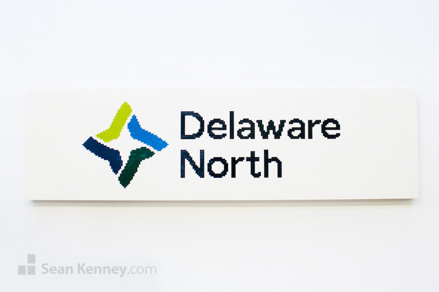 Delaware-north-logo LEGO art by Sean Kenney