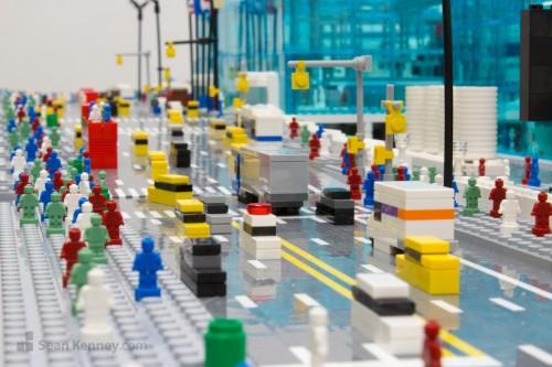 Sean Kenney Art With Lego Bricks Jacob K Javits