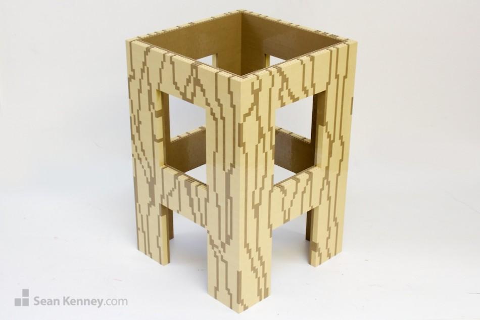 Abbot-abbot-box-logo LEGO art by Sean Kenney