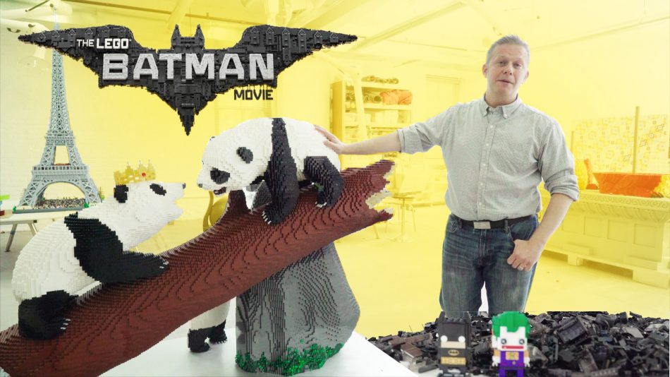 The-lego-batman-movie-sean-kenney-builds-episode-1-the-batmobile LEGO art by Sean Kenney