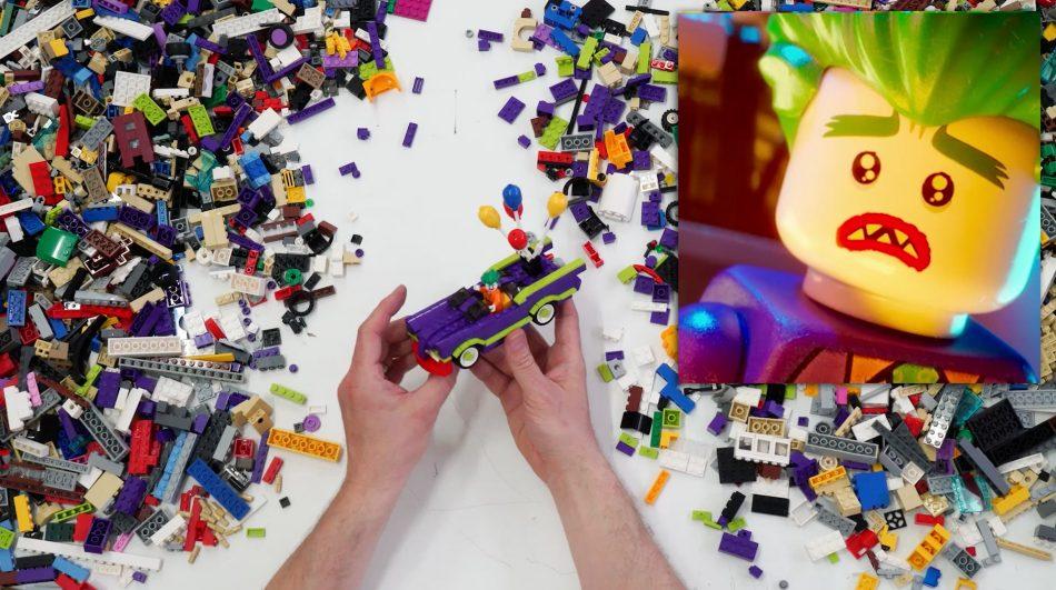 The-lego-batman-movie-sean-kenney-builds-episode-2-jokers-ride LEGO art by Sean Kenney