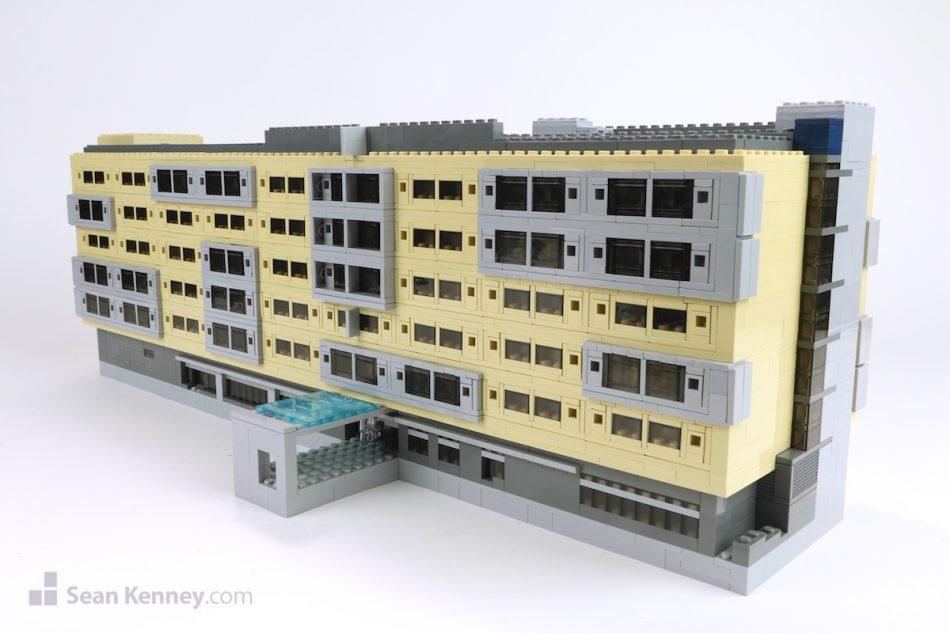 Atlanta-marriott LEGO art by Sean Kenney