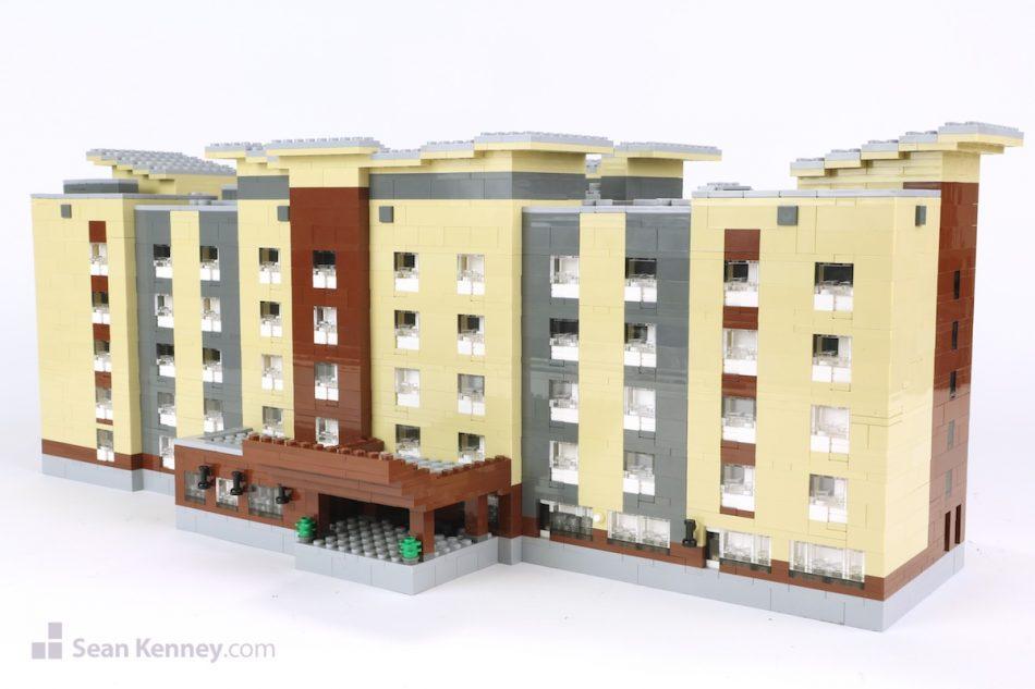 Harmar-pa-marriott LEGO art by Sean Kenney