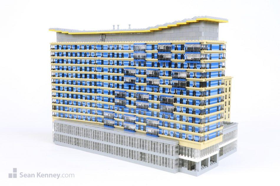 Boston-marriott-2 LEGO art by Sean Kenney