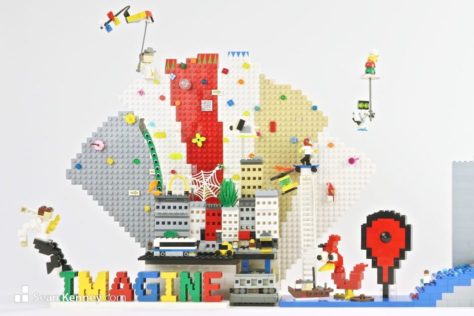 Success-story LEGO art by Sean Kenney