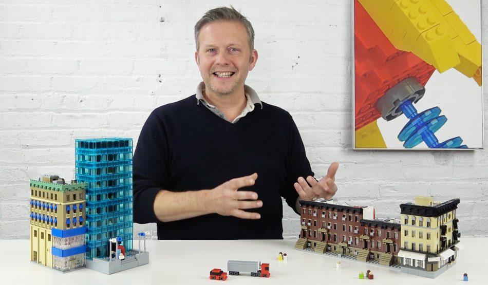 Sean-on-creating-scale-models-with-lego-bricks LEGO art by Sean Kenney