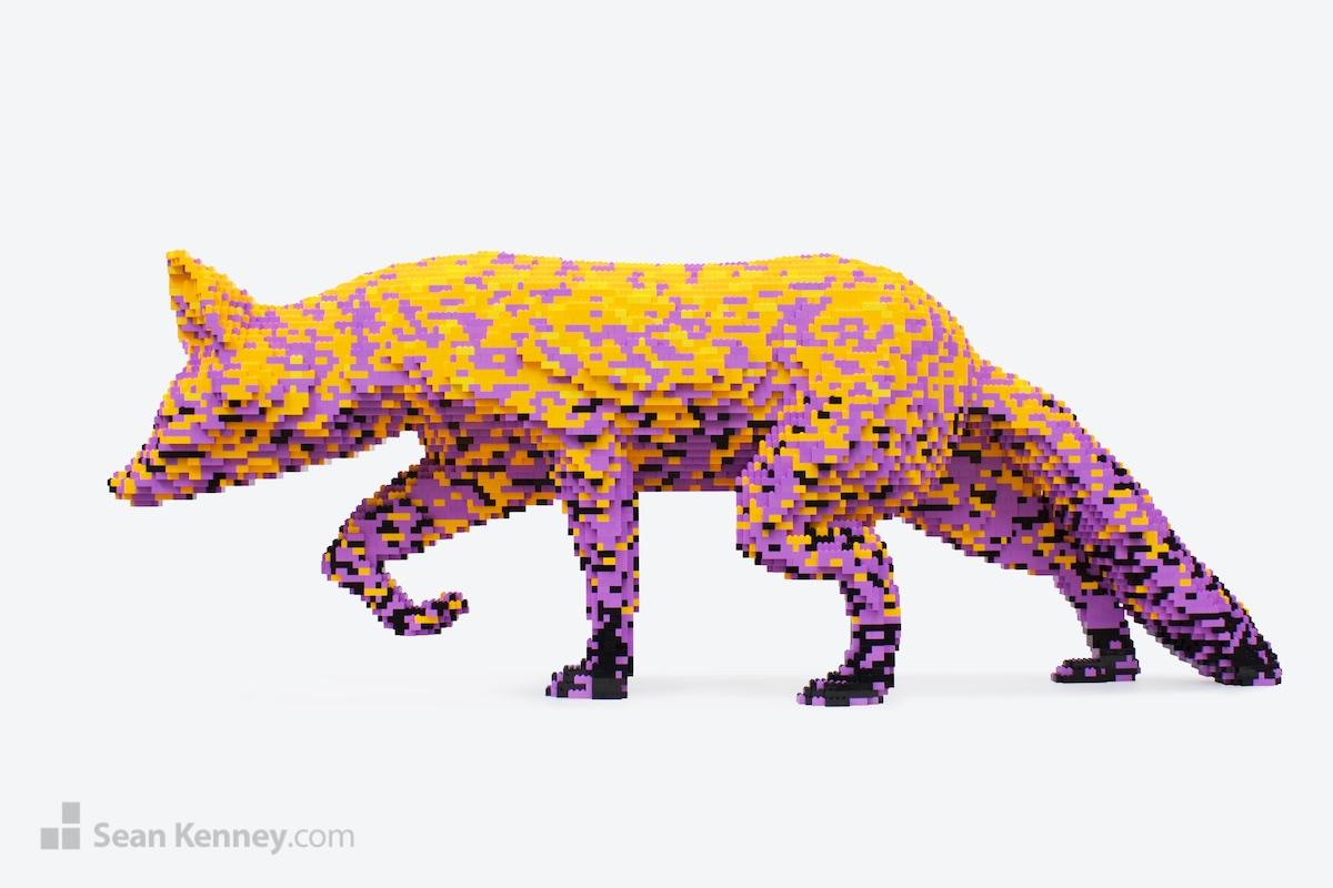 lego master builder fox