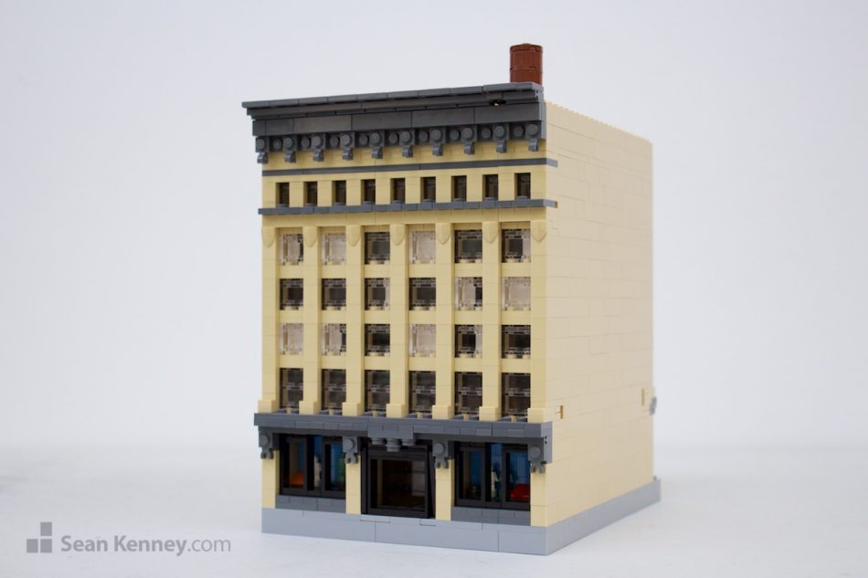 Old-department-store LEGO art by Sean Kenney