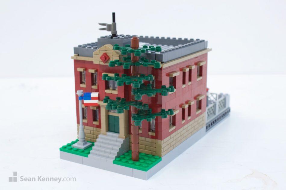 Small-brooklyn-primary-school LEGO art by Sean Kenney