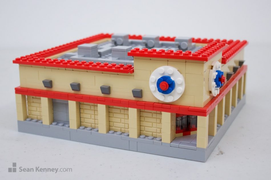 Ugly-big-box-retail-store LEGO art by Sean Kenney