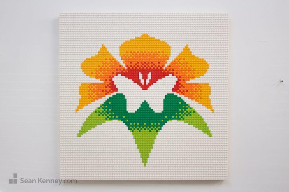 Botanica-wichita-logo LEGO art by Sean Kenney