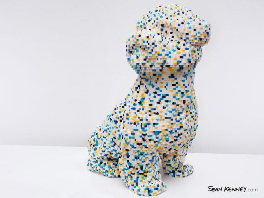 Confetterrier LEGO art by Sean Kenney